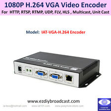 VGA H.264 encoder for RTMP Facebook YouTube live streaming Broadcast
