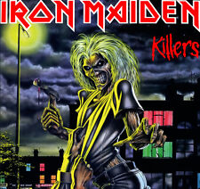 Iron Maiden - Killers Vinyl LP Heavy Metal Sticker, Magnet