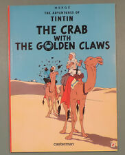 Tintin en Anglais Crabe Pinces d'Or Herge editions Casterman