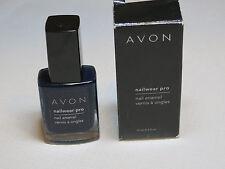Avon NailWear Pro Nail Enamel Textured Teal N803 0.4 fl oz polish mani pedi;