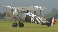 Scale Sopwith Snipe / Giant Scale RC AIrplane Printed Plans & Templates