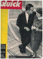 Quick Magazine February 2 1957 Grace Kelly Irene Mann Sophia Loren