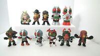 11 Piece/Set Mini Figure Kamen Rider 2.56inch 65mm  From Japan Free Shipping