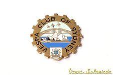 "METALLO-PLACCA ""VESPA CLUB di Sidney"" - Australia Australia emblema v50 PK PX"