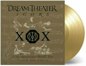 Dream Theater - Score  4 Gold Vinyl Set Numbered 2000 Worldwide 180 Gr