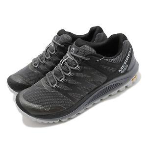 Merrell Nova 2 GTX Gore-Tex Grey Black Men Outdoors Hiking Trail Shoes J035573
