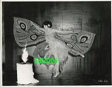"""BEBE DANIELS Vintage Original '22 MOTH DANCE Photo """"SINGED WINGS"""" KEYES  LinenBk"""