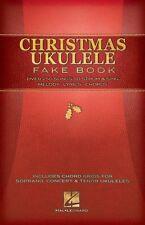 Christmas Ukulele Fake Book Sheet Music Ukulele Book NEW 000120171