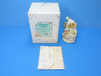 Cherished Teddies Bear Christmas Angela Peace On Earth Enesco 1996 New