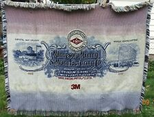 Tapestry Throw Blanket 3M Minnesota Mining Manufacturing 100th Anniversary 2002