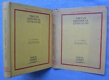 TIBETAN HISTORICAL LITERATURE, BIBLIOGRAPHY WITH SUMMARIES: VOSTRIKOV 1970 HC/DJ