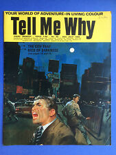TELL ME WHY - THE CITY THAT DIED OF DARKNESS - no.48 - Juillet 1969 - MAGAZINE