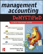 Demystified: Management Accounting Demystified by Leonard Eugene Berry (2005, Pa