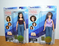 "CHARMED PRUE & PHOEBE HALLIWELL Action Figure Doll Lot MOC 8"" MEGO 2018 Witches"