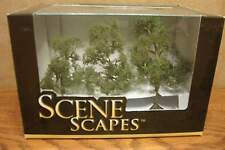 """BACHMANN SCENE SCAPES HO SCALE 3"""" - 4"""" SYCAMORE TREES  (3) TREES/BOX"""