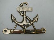 Messing Maritime Hakenleiste Schlüsselbrett Handtuchhalter Anker  Schlüsselhaken