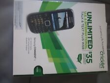 Samsung Comment 3 SCH-R480C - Black (Cricket) NOT ACTIVATE BY CRICKET ANY MORE