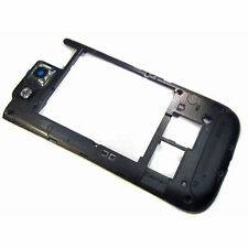 Samsung Galaxy S3 III GT i9300 Central Cámara Cubierta Frontal De Chasis reemplazar Negro