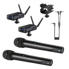Audio-Technica System 10 Wireless w/ Handheld Mic ATW-1702 + AT8691 Camera Shoe