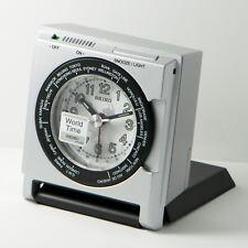 New - Seiko Travel Alarm Qhe116Slh