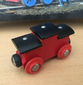 33612 Authentic Brio Wooden Train Caboose! Thomas!