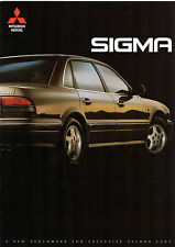 Mitsubishi Sigma 3.0 V6 Saloon 1991-92 UK Market Launch 10pp Sales Brochure
