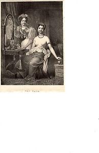 The Bath: Antique Print