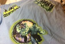 The Incredible Hulk Twin Fitted Sheet Marvel 2008
