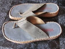 WRANGLER TOE POST MULES BEACH SHOES SIZE 40 WORN