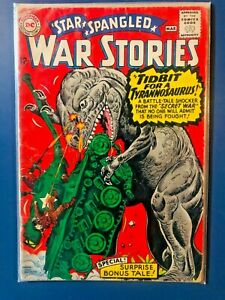 STAR SPANGLED WAR STORIES (1952 DC) #125 Silver Age Comic 1966