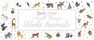 Small Things - World Animals by Lewis and Irene Fabrics