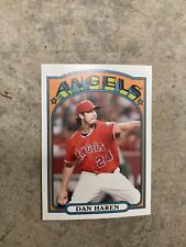 2013 Topps 1972 Mini Dan Haren Angels TM2