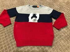The Children Place toddler boys Abominable Snowman Sweater size 3T