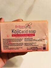 Brilliant Skin Kojic Acid Soap Micro-Exfoliant Anti-Acne Smoothing Lightening