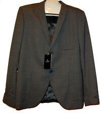 Tiger of Sweden Brown Gray Men's Wool Jacket Blazer Size US 46  EU 56 NEW