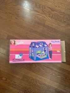 1999 Barbie Play House Playhouse Vinyl PVC Tent Kid-Sized Doll Mattel