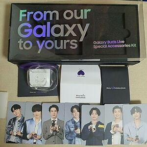 BTS]Official Samsung Galaxy Buds Live Special Accessories Kit(Photocard,Case etc