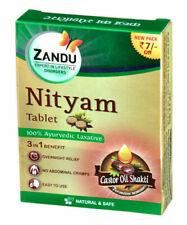 40X Zandu Nityam Tablet For Gas, Acidity Digestion 12 Tablet//Pure Herbal//Free