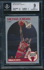 1990-91 Hoops #65 Michael Jordan BGS 9 Mint