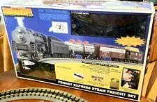 Vintage 2001 MTH RailKing Pennsylvania 6-8-6 Bantam Turbine Steam Set+ SEE VIDEO