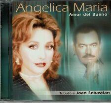 Angelica Maria Amor del Bueno Tributo a  Joan Sebastian  BRAND  NEW SEALED  CD