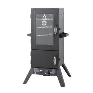 New-Hark-2-Door-Gas-Smoker-HK0522W  Brand NEW