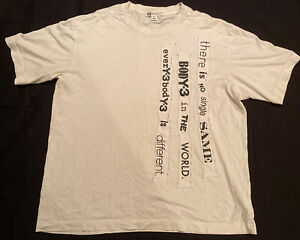 Y-3 Yohji Yamamoto Men's T Shirt White Size XL