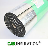 20mm Sound Proofing Heat Insulation Closed Cell Foam Foil Faced Mat Van Camper