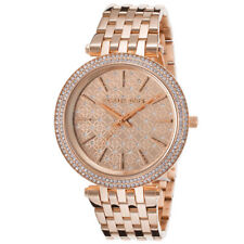 Michael Kors Darci Rose Gold Tone Monogram Dial MK3399 39mm Ladies Watch