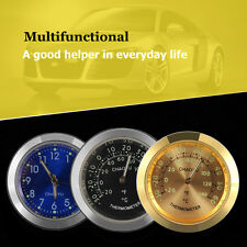 Car A/C Vent Clip Thermometer Clock Gauge Trim Perfume Refill Storage Fragrance