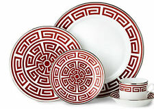 Richard Ginori - Labirinto Red Scarlet - Dinner Set 36 Pieces 12 Persons
