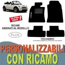 TAPPETI AUTO SU MISURA PER MINI COOPER CABRIO R52 MOQUETTE + GOMMA + RICAMO PLUS