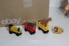 Thomas Tank Wooden Train Zoo Cars Circus Animal figures Thomas & Friends parts