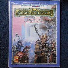 FRQ2 Hordes of Dragonspear Advanced Dungeons & Dragons Module D&D RPG Game 9369